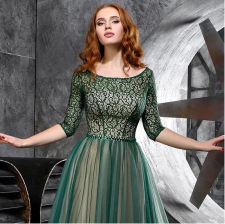 Spoločenské šaty do veľkosti 56 - Obrázok č. 3