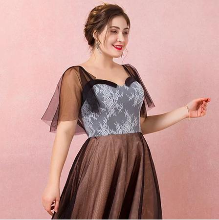 Spoločenské šaty do veľkosti 58 - Obrázok č. 4