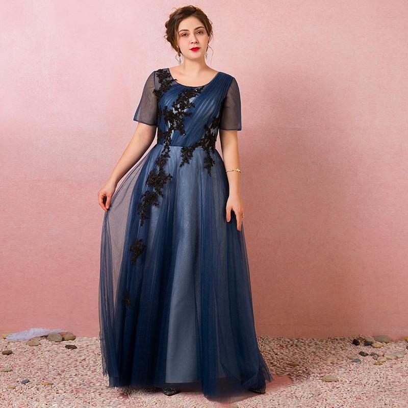 Spoločenské šaty do veľkosti 58 - Obrázok č. 1