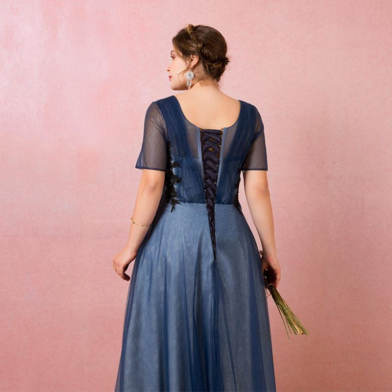 Spoločenské šaty do veľkosti 58 - Obrázok č. 3