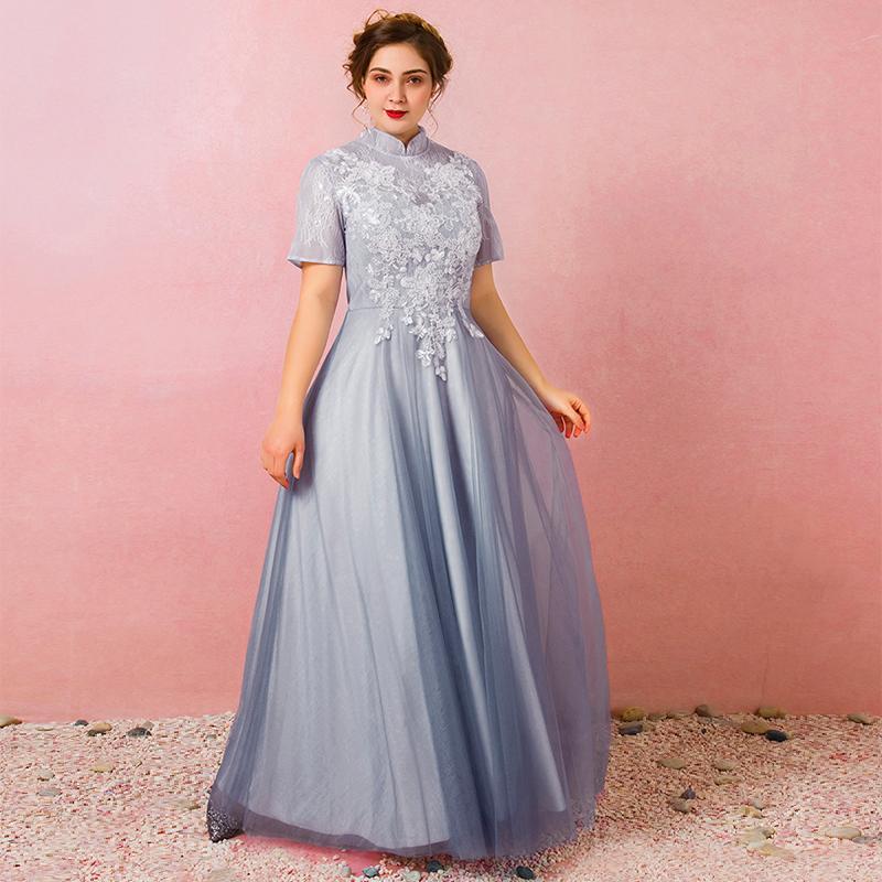 Spoločenské šaty do veľkosti 58 - Obrázok č. 2