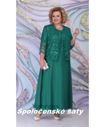 Dlhé spoločenské šaty do veľkosti 58 - Obrázok č. 1
