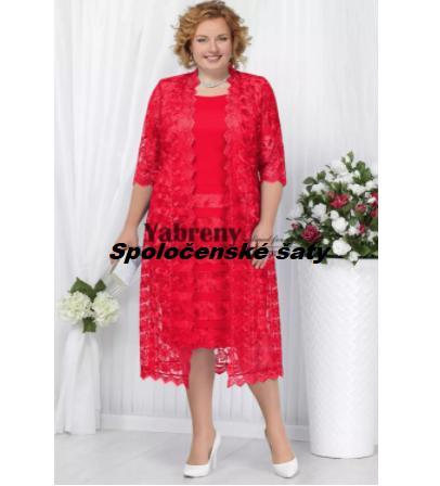 Krátke spoločenské šaty do veľkosti 58 - Obrázok č. 1
