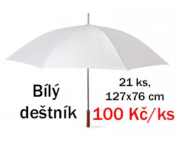 Bílé deštníky - nové - Obrázek č. 1