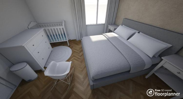 Vizualizace byt - Obrázek č. 1