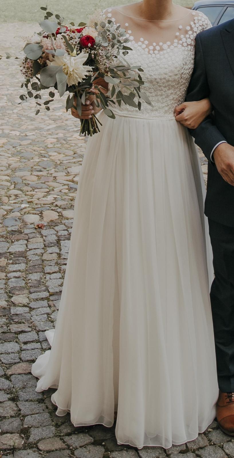 Svatební šaty - Le Papillon by Modeca - Obrázek č. 1
