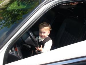 Náš malej šofér :o)