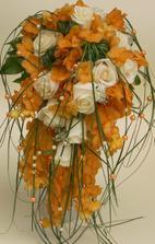 Moje kytice, byla nádherná Foto Hanka K. Šebestová