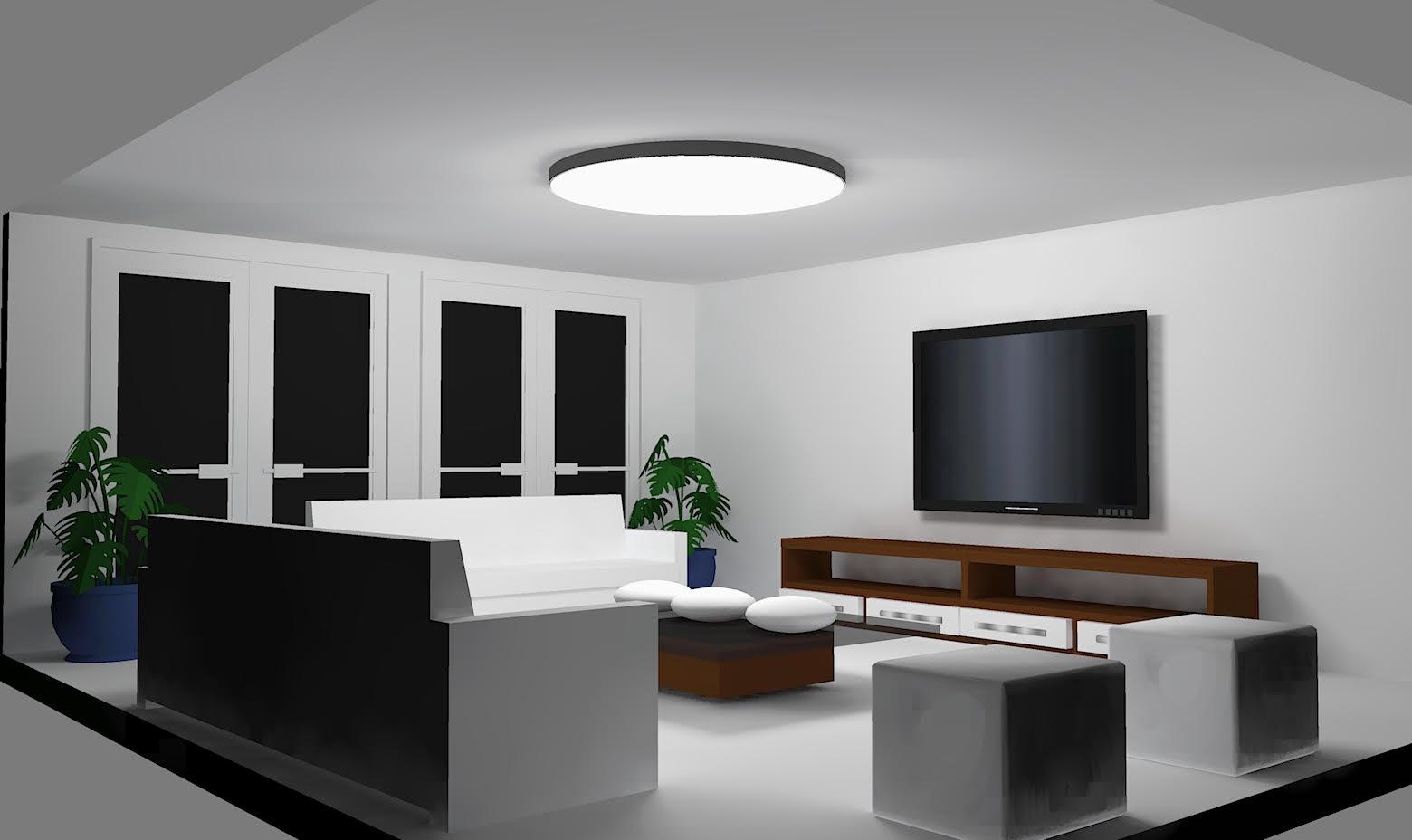 Nemáte tip?  Hledáme kruhové svítidlo o průměru 1m (jako hlavní osvětlení místnosti, bude doplněno ještě dalšími RGB led pásky v místnosti). Ideálně pro LED pásky Loxone = stmívatelné, RGB, bez zdroje. Elektřinu budeme mít rozvedenou Loxone tree kabelem (https://shop.loxone.com/cscz/tree-kabel.html?__...) - 24 V, takže nechceme platit zbytečně za zdroj. Zatím mám 3 nabídky, ale všechno od 20 000 a výš... :( (barisol, upravené svítidlo RENY) - Obrázek č. 1