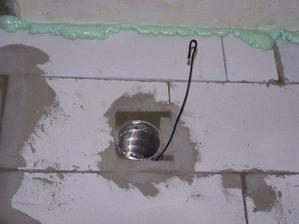 el.kabel pre ventilator v kupelni