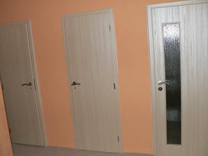 chodba... nové dveře