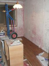 druhá ložnice.... rekontrukce ještě probíhá