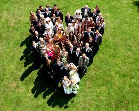 Svadobní hostia s tým určite nebudú mať poblém :-D