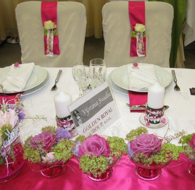 Výstava svadba 2010 KE - dekoracie - Obrázok č. 14