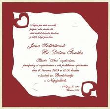 Svatbní oznámení