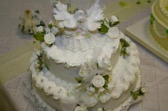 krásna torta :) mňam...