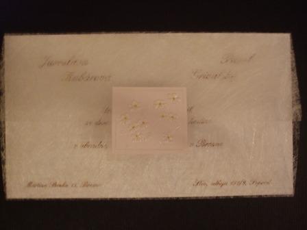 Pred svadbou - Nase oznamenie