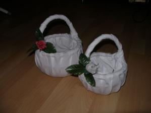 Košíčky pro družičku a mládenečka