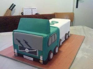 torta pre môjho kamionistu :) ako prekvapenie