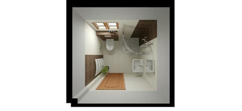 obklad Madera, dveře i okna budou bílé