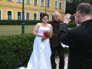 Póza pro fotografa :D Já a tatínek