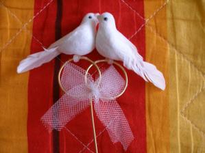holubičky na výzdobu