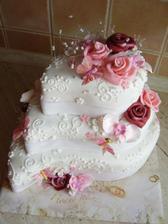 návrh na dort