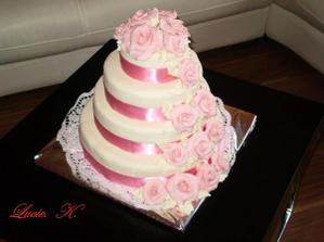 základ dortu by se změnil na šampaň,zbytek by zůstal růžový