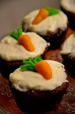 mrkvové muffins s mascarpone krémem
