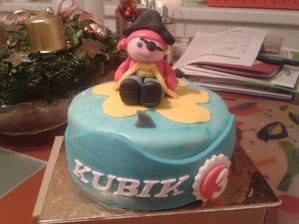 Pirátský dort pro Kubíka