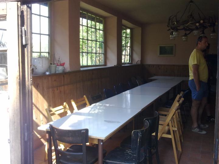 Trojanův mlýn - není promo firmy :-))) - Již připravena tabule pro svatbu na tento víkend