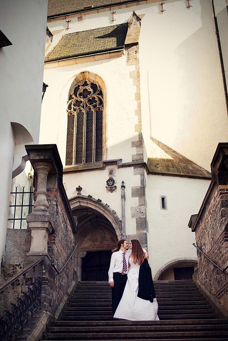 Markéta{{_AND_}}Lukáš - Krumlov je úžasně fotogenické město :)