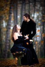 Temná podzimní svatba, aneb jak mohla naše svatba vypadat, kdyby rodina netrvala na bílých šatech.... Foto opět skvělá Zuzka Scharf