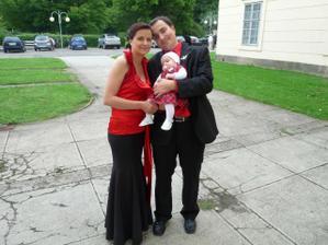 Svědkyně sestřička s rodinkou
