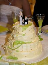 Náš svatební dort