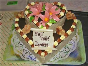 Ukázka dortu od naší cukrářky