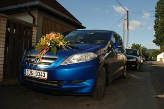 nevěsty auto