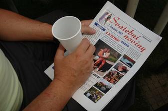 náš výtvor - svatební noviny