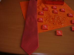 Můj dnešní úlovek ( kamínky, kravata, svícny) (o: