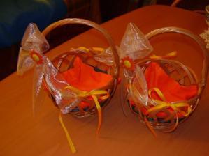 Košíčky na rýži pro družičky (o: