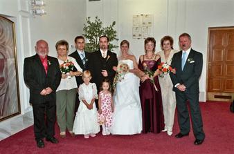 foto s rodičema se svědky