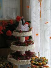 svatební dort 1