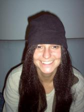 moje svědkyně Káťa, je blond, černá paruka kolovala na focení:-)
