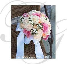 Finální verze svatební kytice