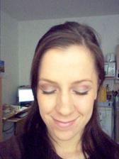 zkouška make-upu, ještě zmenšit nos :-(