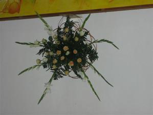 kytica pod obrazom v kostole bola krasna