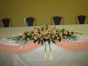 na celnom stole sme mali tuto kyticu pani galdunova splnila nase predstavy :)