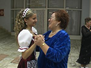 redovy tanec s mamkou