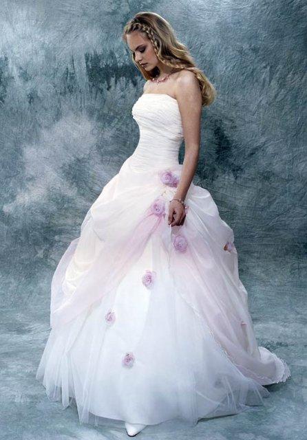Svatební šaty - růžové i červené až do bordó - Obrázek č. 503