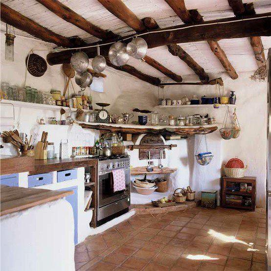 Drevo a biela v kuchyni - Obrázok č. 37